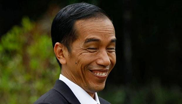 Jokowi sering bercanda