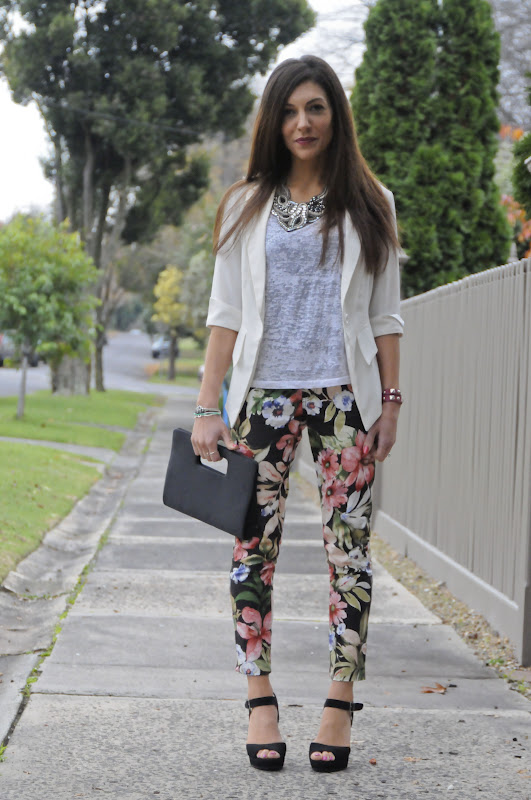 Introducing Floral Pants Into My Wardrobe