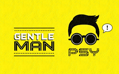 PSY GENTLE MAN YELLOW WALLPAPERS