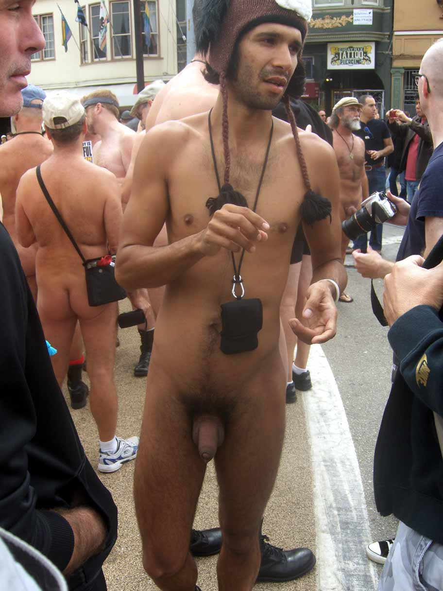 Fantastic way! Men nude male public consider, that