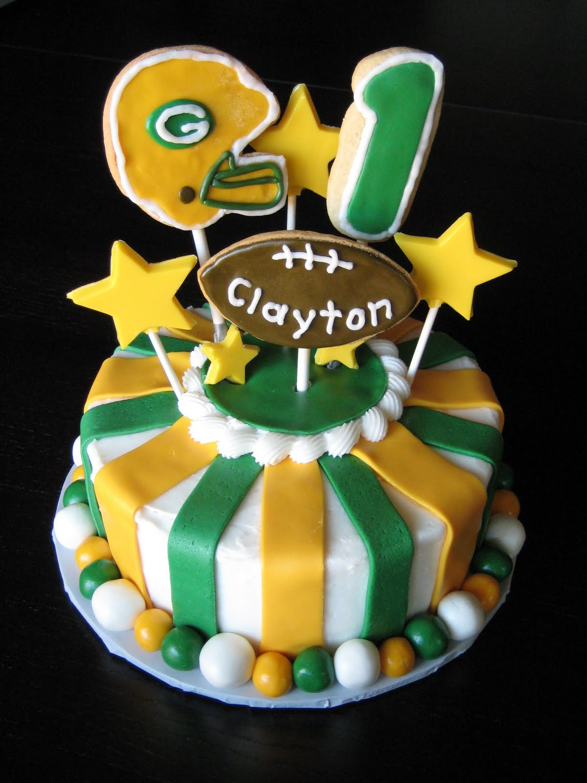 Packers Birthday Cake