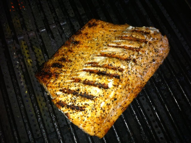 ... is Delicious: Grilled Salmon with Herb and Meyer Lemon Compound Butter