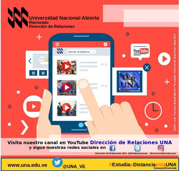 Canal YouTube Dirección de Relaciones