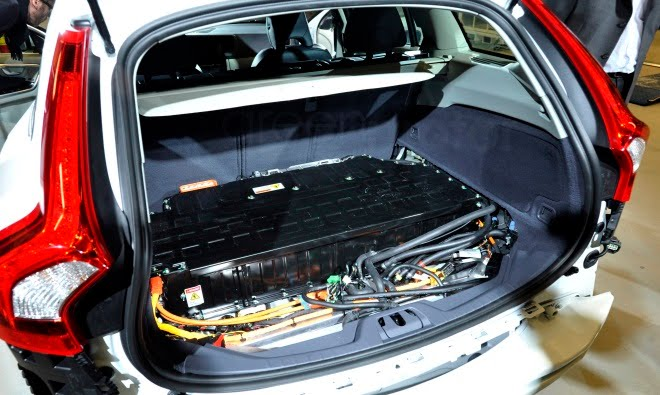 Volvo V60 Plug-in Hybrid battery