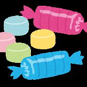 ラムネ菓子のイラスト
