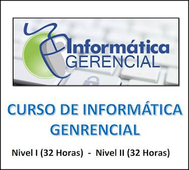 CURSO DE INFORMÁTICA GERENCIAL