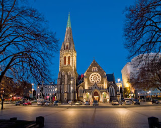 Christchurch New Zealand, tour to new zealand
