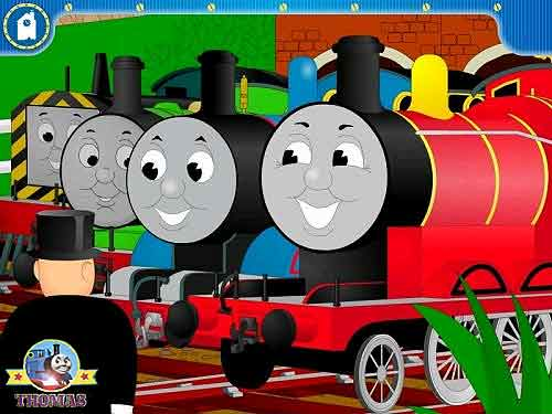 CD ROM Learning Software Play Thomas And Friends Games For Children Puzzle Logic XP Windows Vista