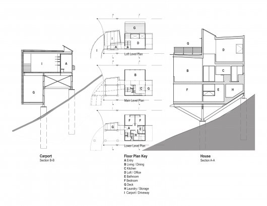 Treehouse residence seattle usa plans most beautiful houses in