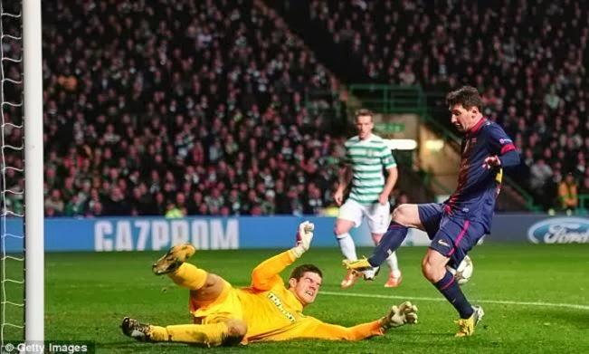 Celtic vs Barcelona without Lionel Messi