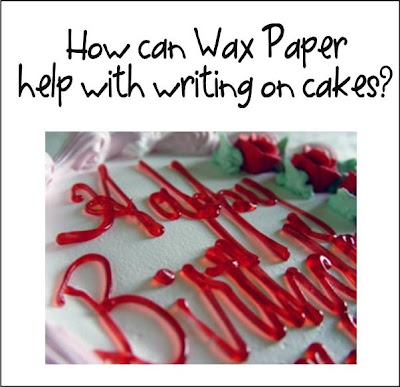 Cake Decorating Writing Techniques : It s Written on the Wall: Tips and Tricks-29 Cake ...