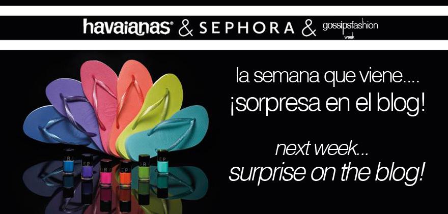 havaianas sephora olga gigirey gossipsfashionweek gossip fashion week