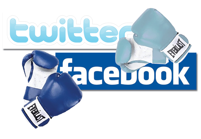 Faceboook VS Twitter
