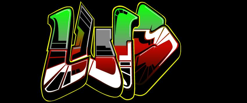 Graffiti de nombre de luis - Imagui