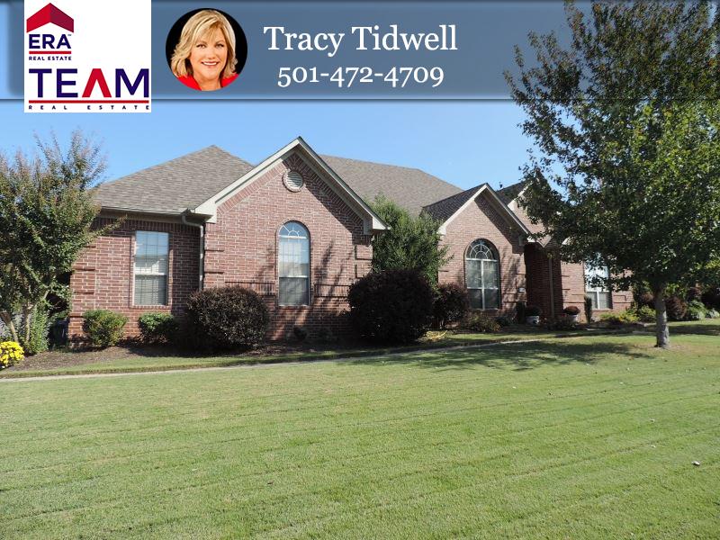 Tracy tidwell team property listings comfortable custom for Custom home builders central arkansas