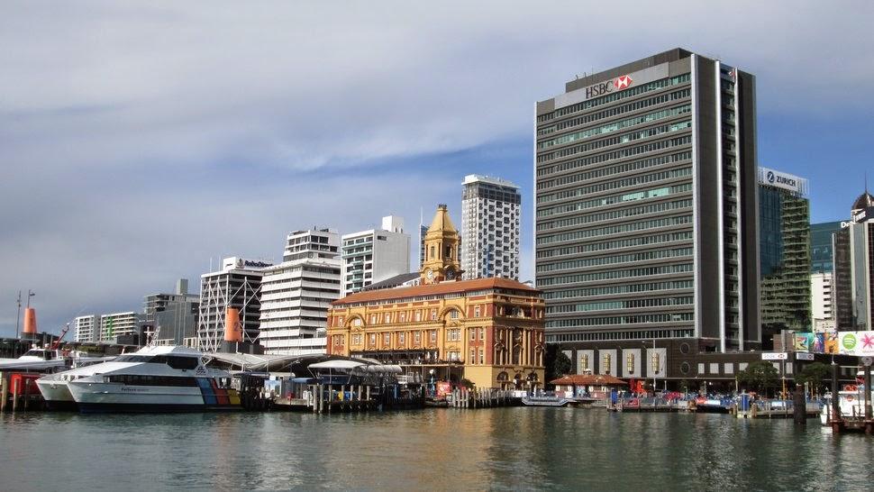 Auckland - La gare maritime