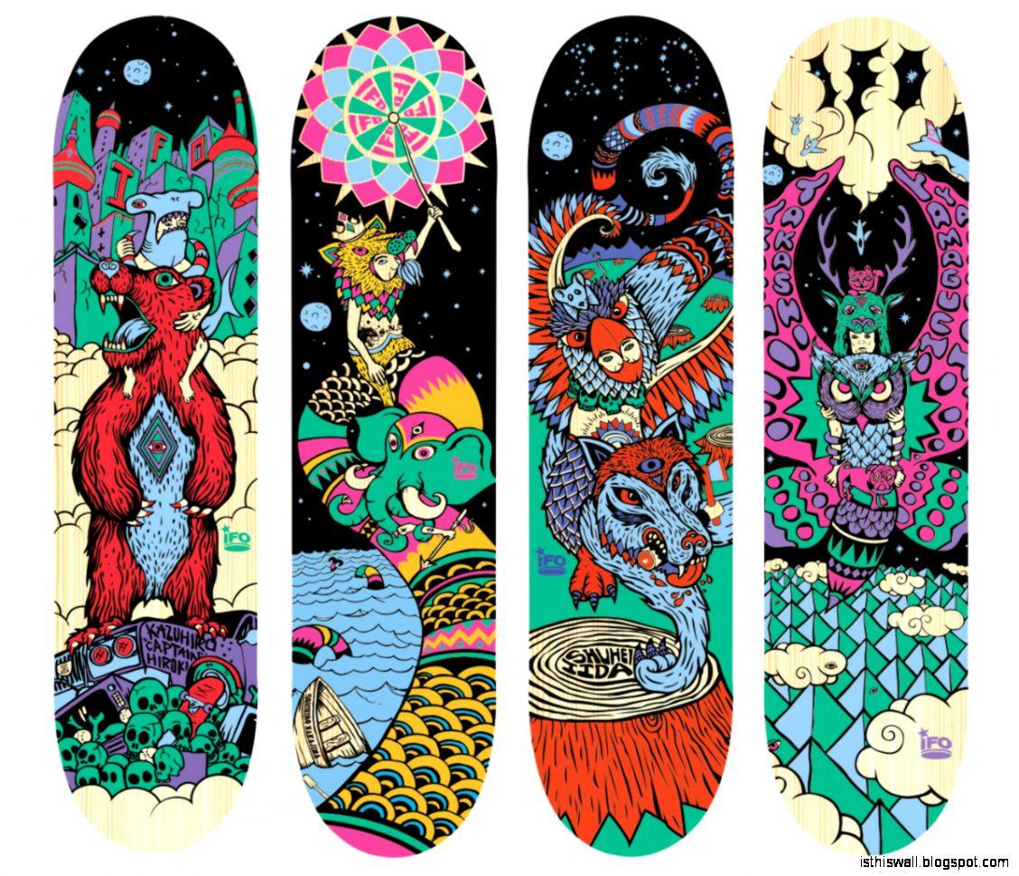Skateboard Decks This Wallpapers