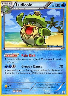 Ludicolo Plasma Storm Pokemon Card