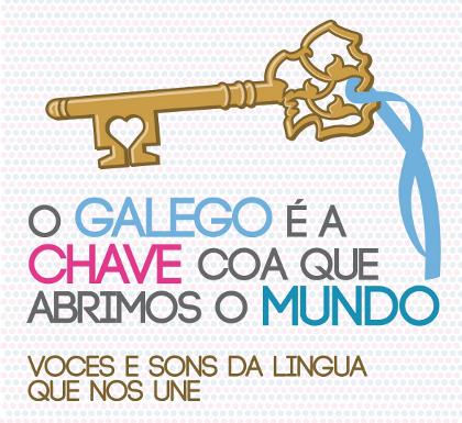 Acto Nacional pola Lingua co lema «O Galego é a Chave coa que abrimos o Mundo»