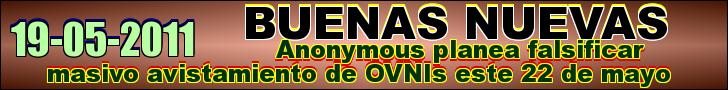 Anonymous planea falsificar masivo avistamiento de OVNIs este 22 de mayo