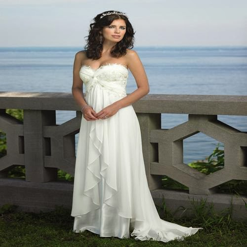 Wedding dress shopping for the casual beach wedding dress for Wedding dress for casual wedding