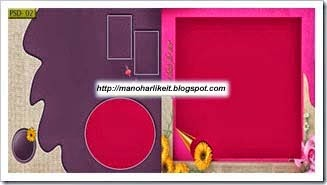 wedding album templates psd files free download