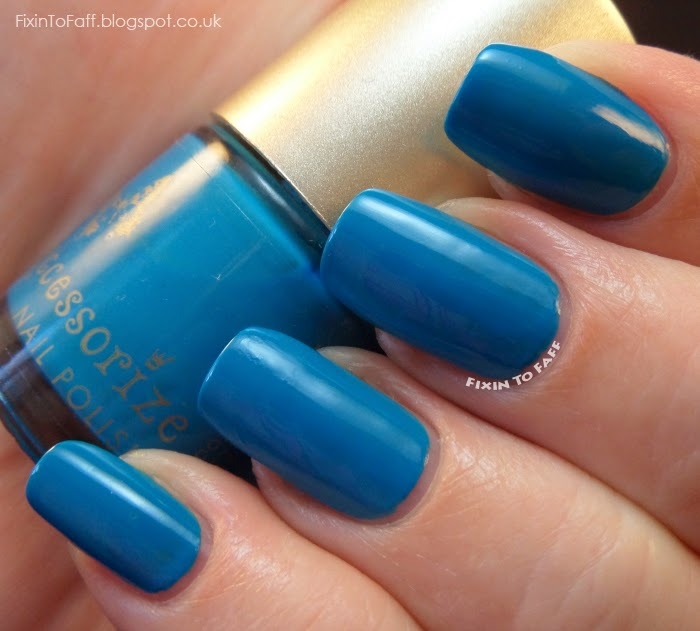Accessorize Indigo nail polish swatch