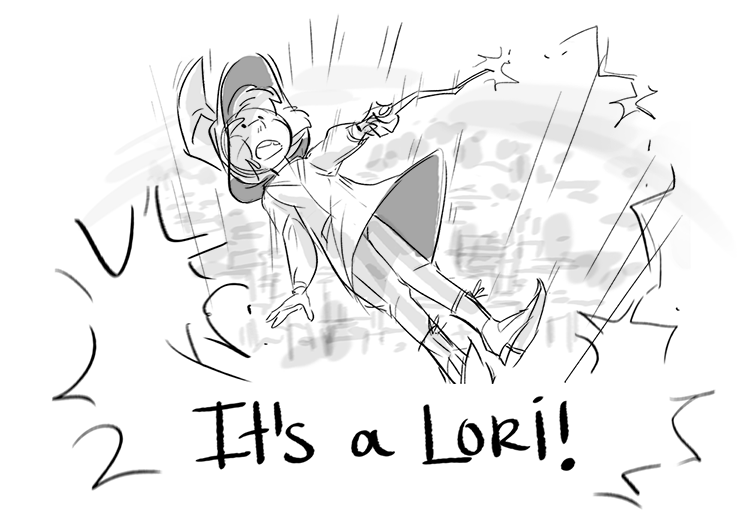 It's a Lori