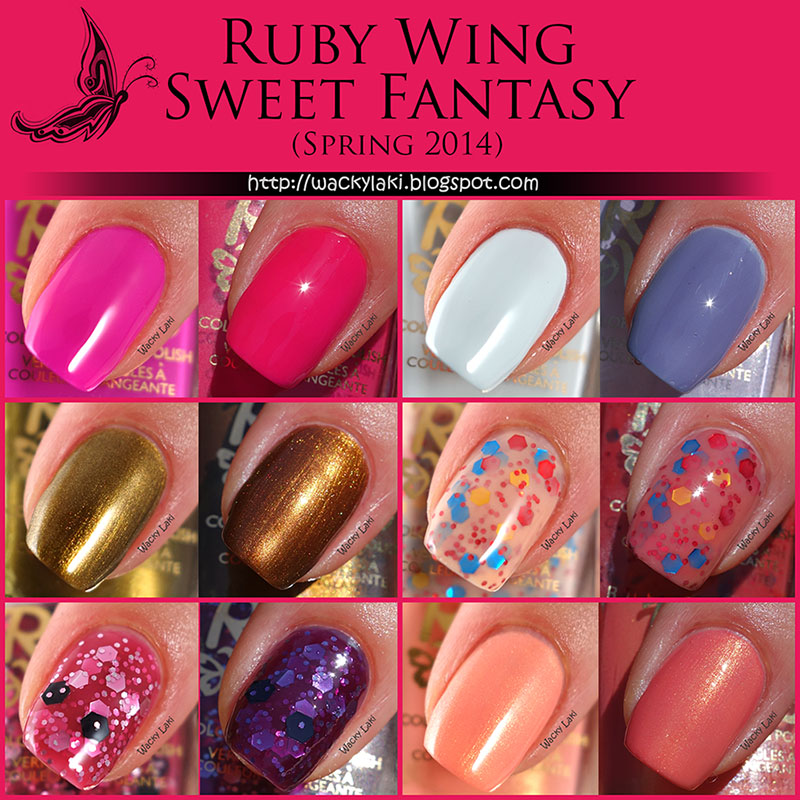 Wacky Laki: Ruby Wing Sweet Fantasy Collection Review