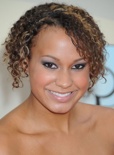 Hair Club: American Black Women Short Curly Hairstyle