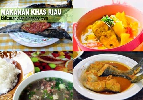Daftar Nama Kuliner/Makanan Khas Riau Yang Terkenal Enak