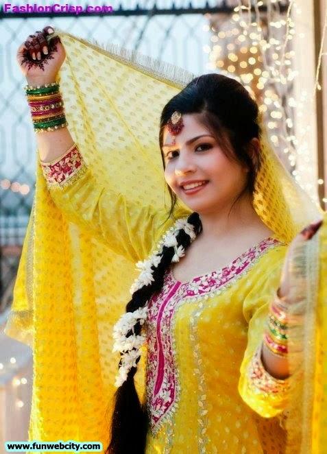 new pakistani indian mehndi dresses 2012 2013   fashion