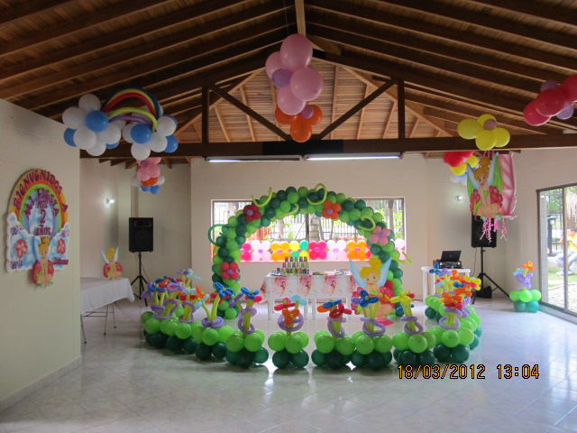 DECORACION CAMPANITA - TINKER BELL FIESTAS INFANTILES ...