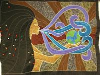 goddess quilt | Leah Day goddess