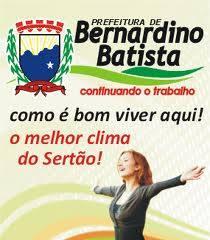 PREFEITURA MUNICIPAL DE BERNARDINO BATISTA PB