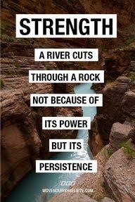 Konsisten adalah kekuatan