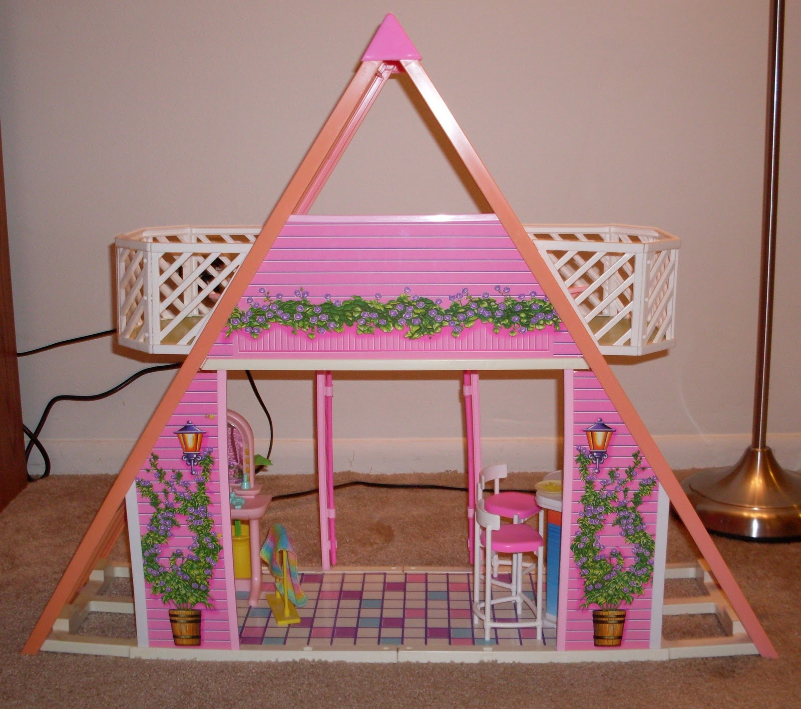 barbie dream house assembly instructions