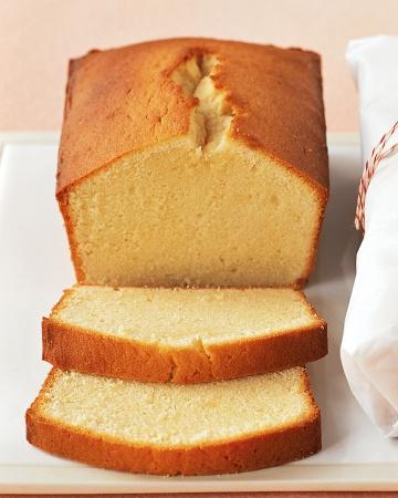 Vanilla Sponge Loaf Cake Recipe
