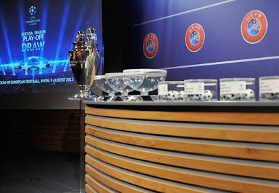 Hasil Undian Babak Playoff Liga Champions 2013-2014