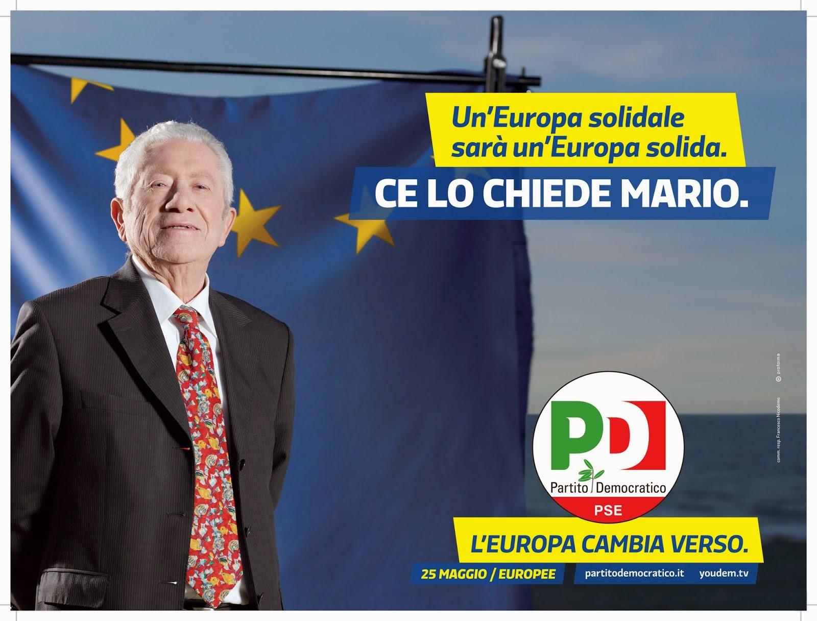 Alle Europee vota PD