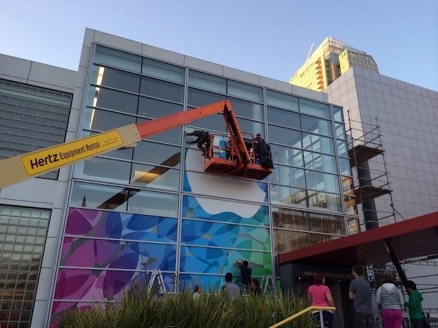 Apple dressing up Yerba Buena Center for 22nd october event