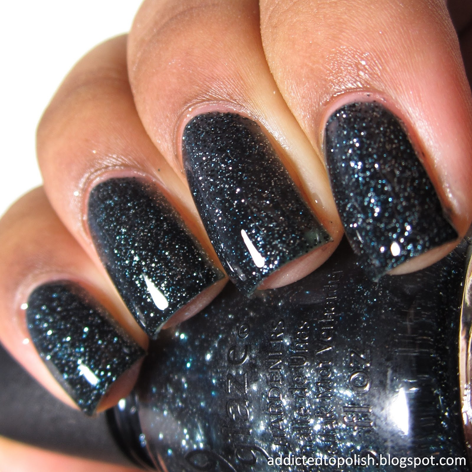 China Glaze Meet Me Under the Stars Twinkle Winter 2014