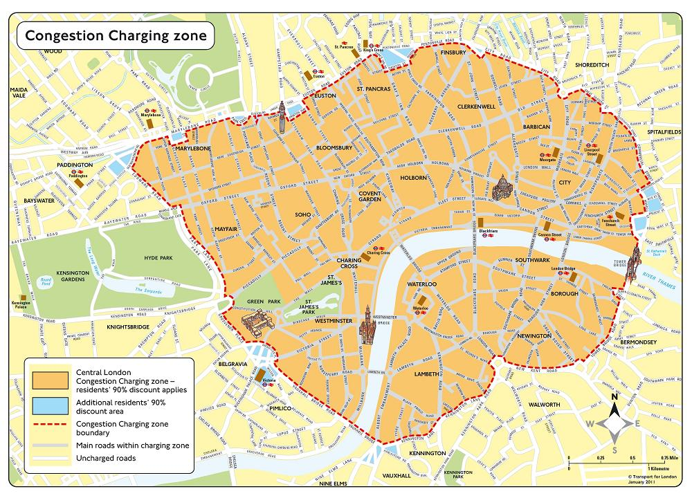 London Congestion Charge changes - Autoesque