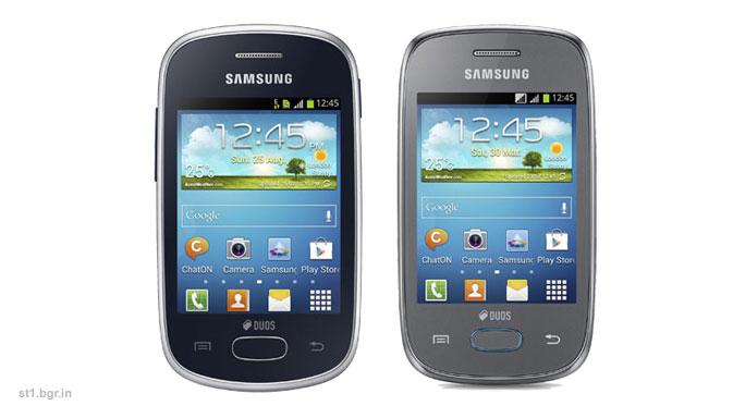 ... Galaxy Star dan Samsung Galaxy Pocket Neo . Keduanya ditujukan untuk
