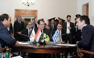 Σύμμαχοι μας η Αίγυπτος και η Κύπρος στην ενέργεια... Τι συνέβη στην σημερινή συνάντηση με τον Αιγύπτιο Πρόεδρο;