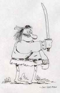 Groo sketch by Zac Gorman
