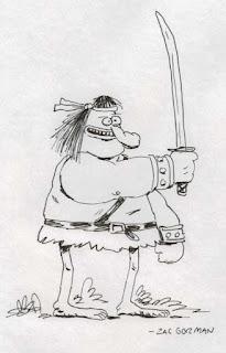 Groo sketch by Zac Gorman