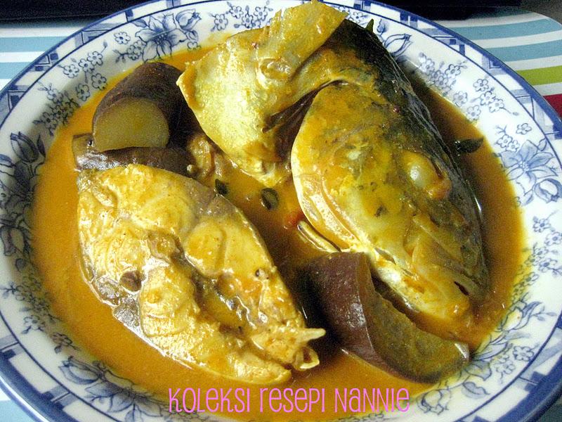 Resepi Nennie Khuzaifah Kari Ikan Nyok Nyok
