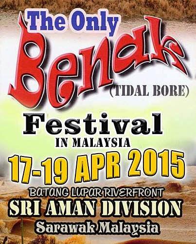 Pesta Benak Tidal Bore Festival 2015