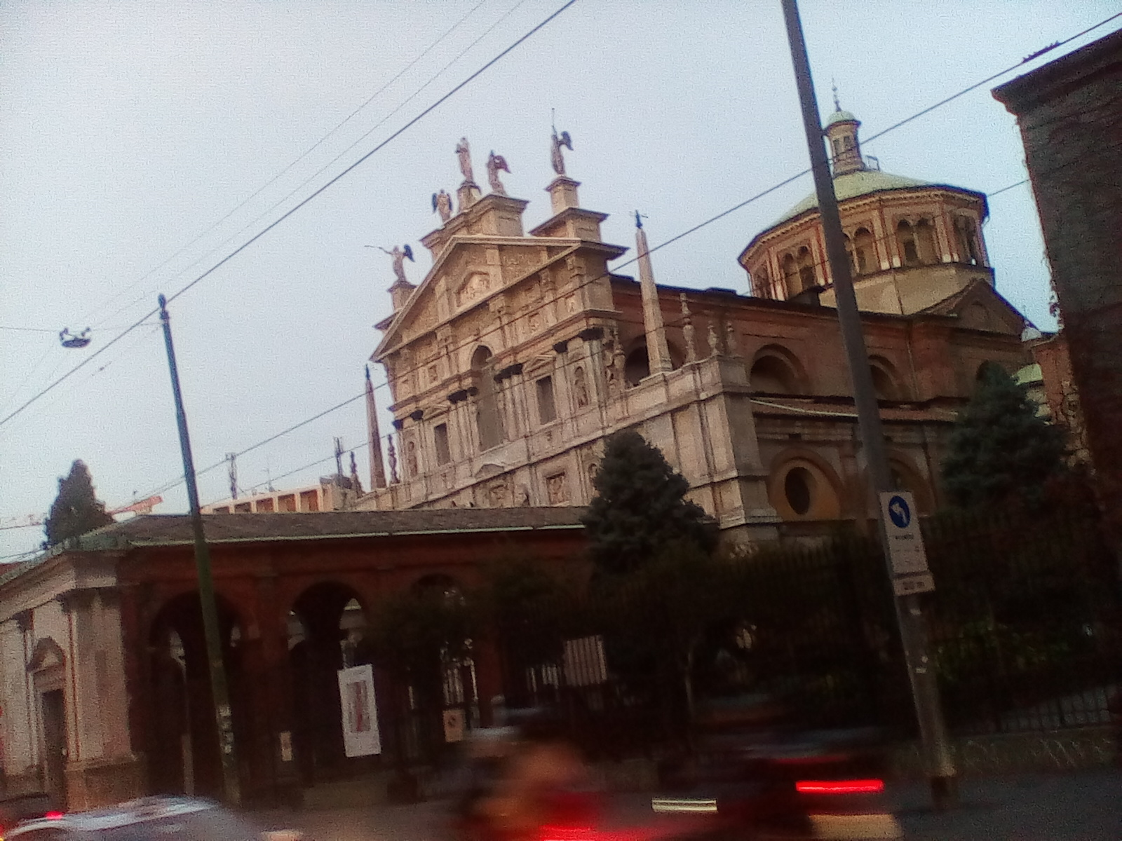 The most beautifull church of Milan in corso Italia and via Burigoso.